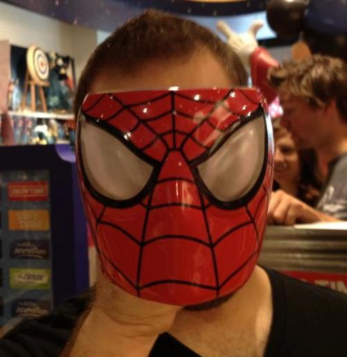 Mike-Spiderman-Face