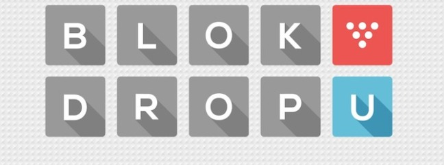 Blok Drop U Logo
