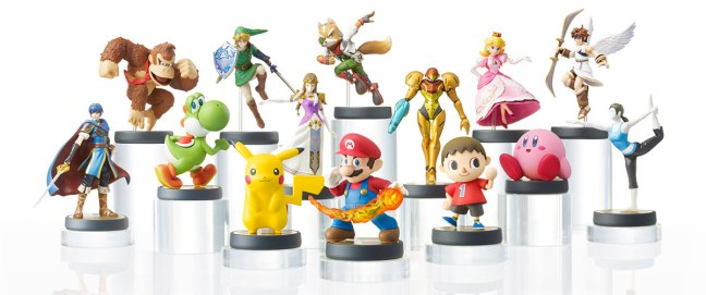 Amiibo figurines look awesome! I'm personally looking forward to Samus and Link