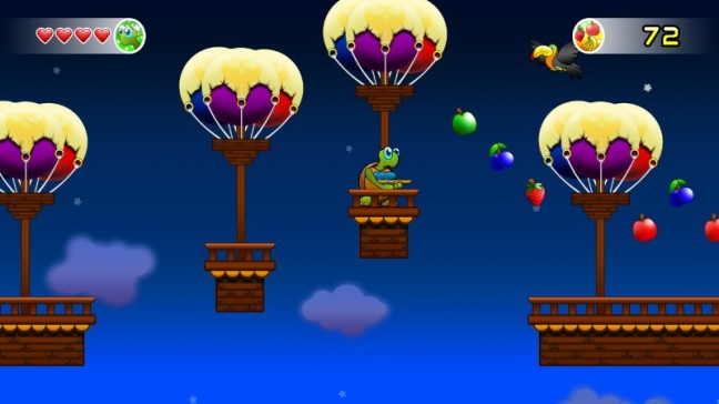Colors are used very well in Turtle Tale