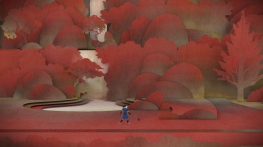 Colors permeate the entirety of Tengami, and they are wonderfully used
