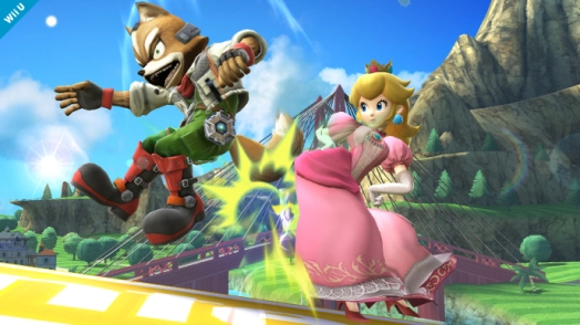 Peach can most certainly hold her own in the various Mario sports titles that have been made, like Super Smash Bros.