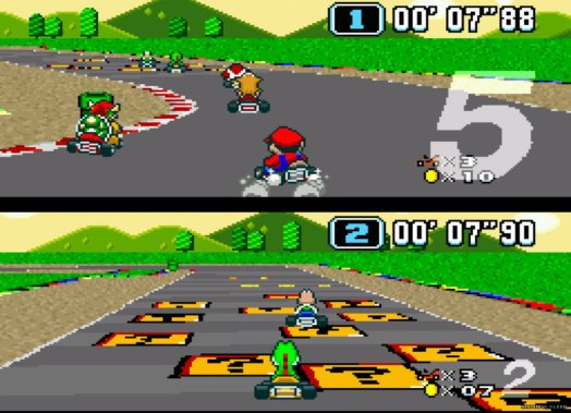 The Mario Kart franchise has come a long way