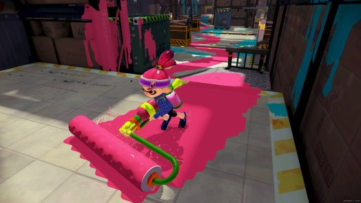 Weapon selection is quite nice in Splatoon