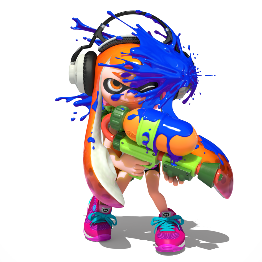 Character designs, like the Inklings, are fun